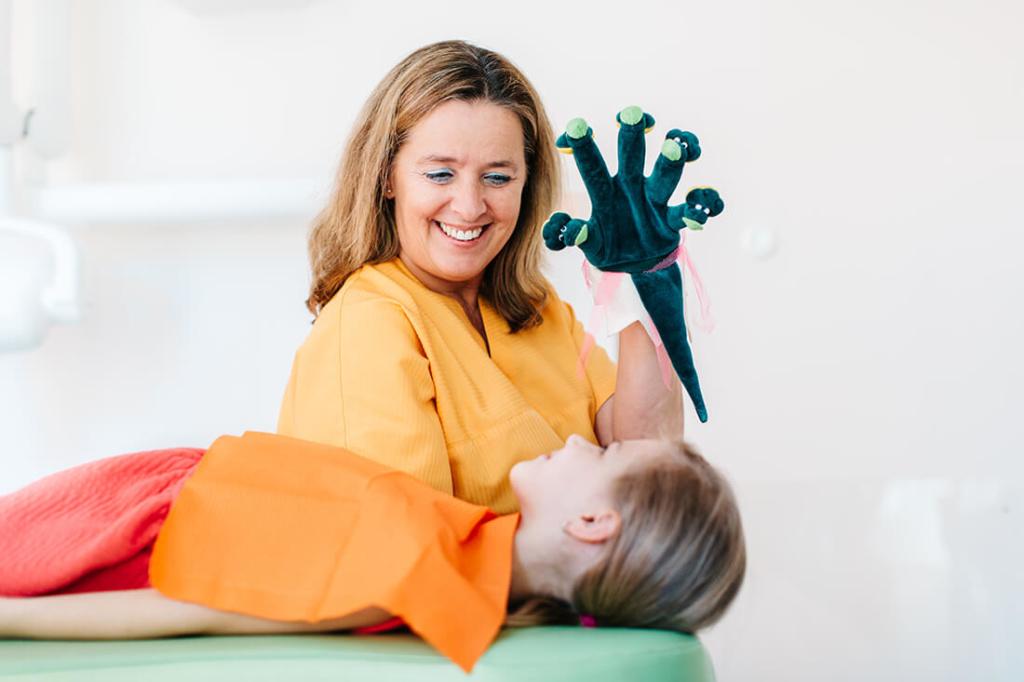 Kinderzahnarzt Haidhausen - Zagrean - Behandlung in unserer Praxis